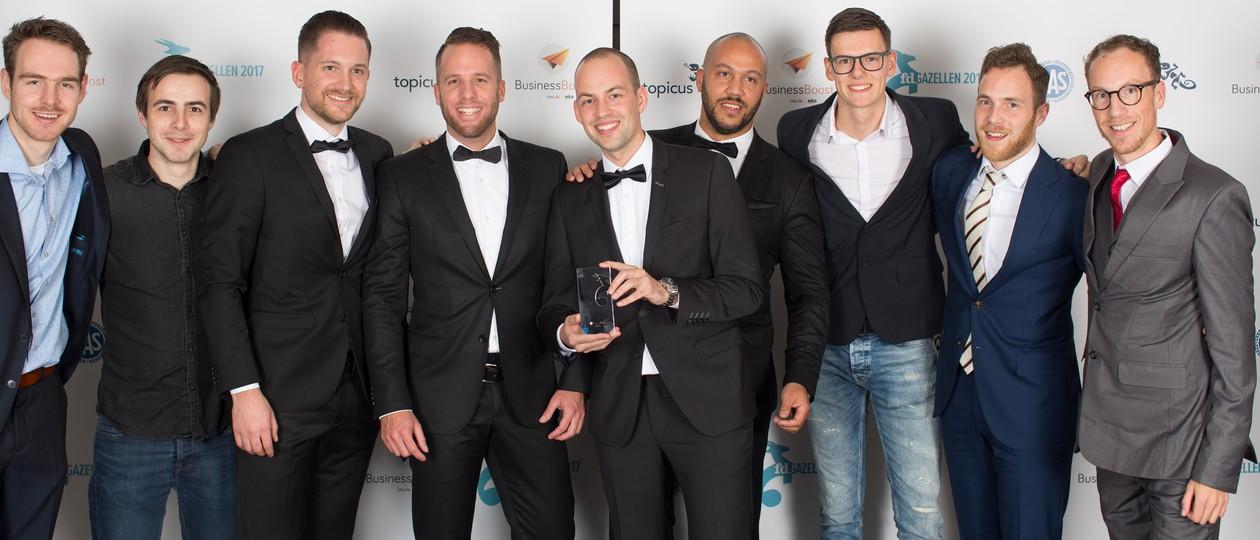 Mediamoose heeft de FD Gazellen Award 2017 in ontvangst genomen!