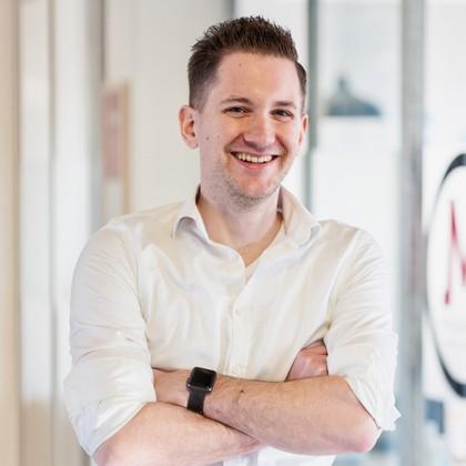 Mediamoose teamlid Sven Groot