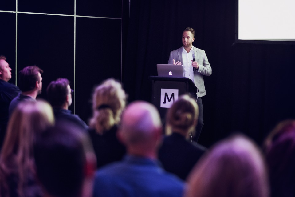 Gert-Jan spreekt op Security Event