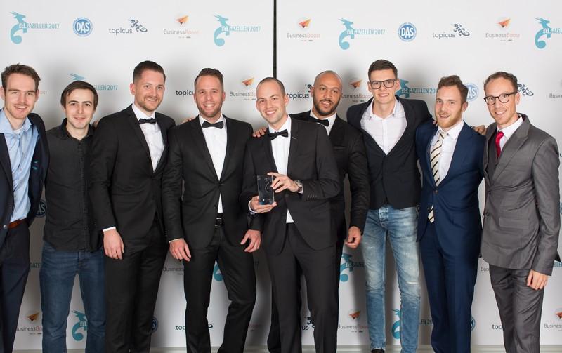 Mediamoose neemt FD Gazellen Award 2017 in ontvangst