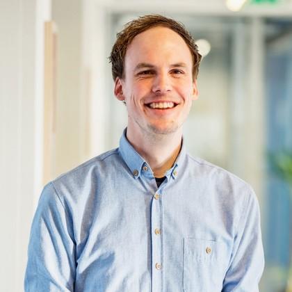 Mediamoose teamlid Sander Jansma