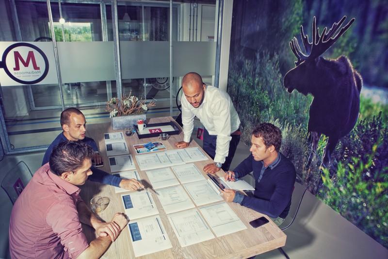 Impressie tijdens het in kaart brengen van de Customer Journey voor PrimaVillas.nl