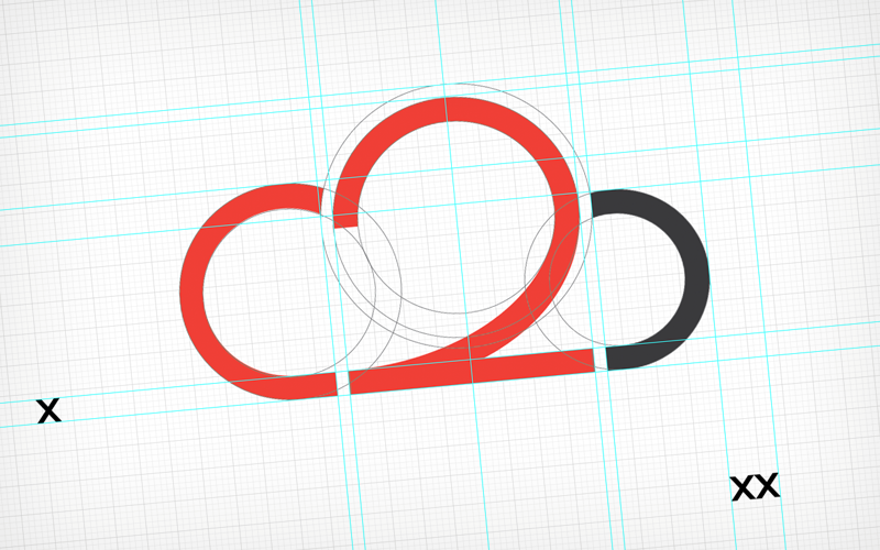 Ontwerp Cloud2 logo